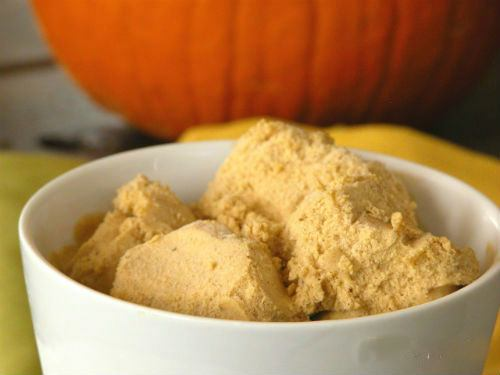 Dairy Free Pumpkin Ice Cream Recipe Photo
