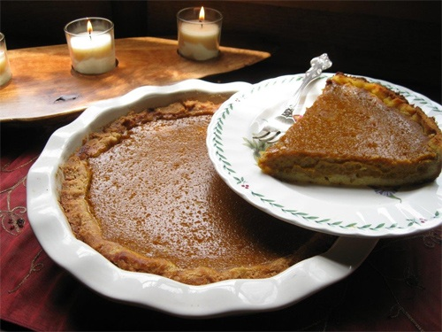 Dairy and Gluten Free Pumpkin Pie Recipe Photo