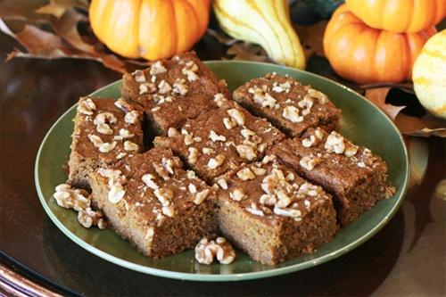 High Protein Pumpkin Spice Cake Recipe Photo