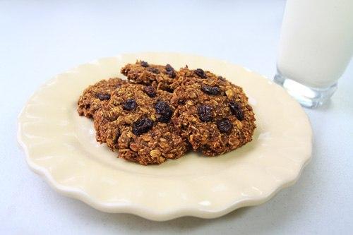 Oatmeal Pumpkin Coconut Cookies Recipe Photo
